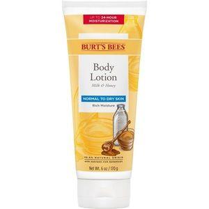 4/$15 Burt's Bees milk & honey lotion